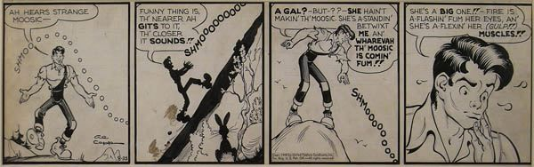 Al Capp Lot 42 Comic Art