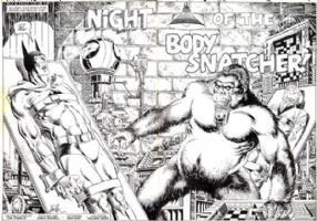 Jim Starlin/P. Craig Russell Detective Comics #482 spread Comic Art