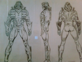 Official Handbook of the Marvel Universe Master Edition: Machete Comic Art