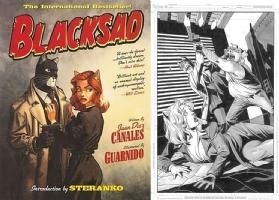 Blacksad - One Minute Later - Shawn McManus Comic Art