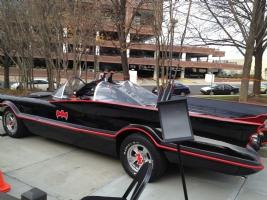 Batmobile replica from NC Comicon 2012, Comic Art