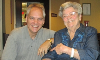 Marie Severin and me - July 2014, Comic Art