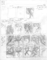 Nick Cardy Thumbnail Sketches 2004, Comic Art