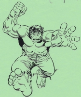 Hulk print by Herb Trimpe Comic Art