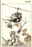 The Nam #52 pinup by Wayne Vansant Comic Art