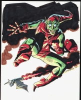 The Green Goblin by Steve Rude Comic Art