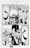 Mark Bagley - Ultimate Spider-Man 5 pg.13 Comic Art