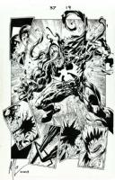 Mark Bagley - Ultimate Spider-Man 37 pg. 19 (1st Ultimate Venom!) Comic Art