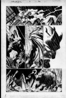 Mark Bagley - Ultimate Spider-Man 4 pg.20 (1st Ultimate Green Goblin) Comic Art