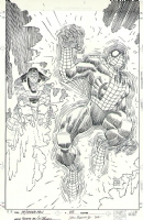 Romita JR - Spider-Man 85 Cover Comic Art