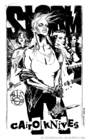 Punk Storm and the Cairo Knives - Chris Brunner and Rico Renzi Comic Art