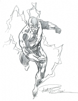 Dark Flash Walter West Comic Art