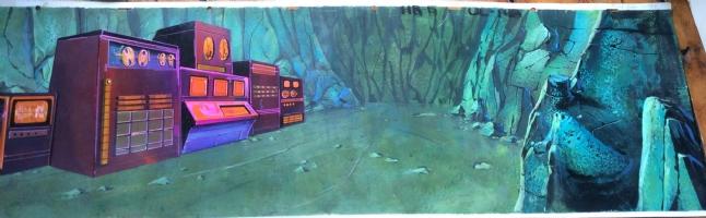 Hardy Boys 1969 panoramic background 4 Comic Art