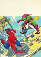 Spiderman V3 n�9 Original Cover by Lopez Espi  Against the green goblin  Comic Art