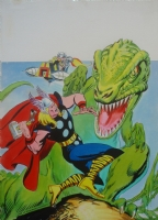 Thor V2 n� 25 after John Buscema Comic Art