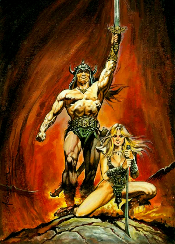 conan the barbarian comic. Conan the Barbarian Comic Art