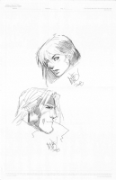 Gambit and Rogue sketches (Joe Madureira) Comic Art