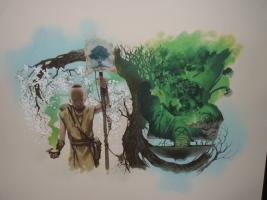 Budoka Gardener Comic Art