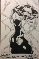Superior Spiderman Jam Piece by Humberto Ramos & Ryan Stegman Comic Art