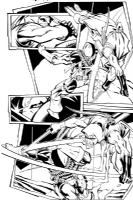 Green Arrow # 62 Page 18 by Scott McDaniel, Comic Art