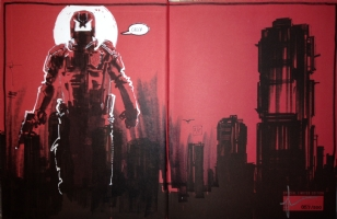 Dredd by Jock, Comic Art