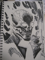 Ghost Rider Comic Art