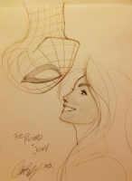 Spidey and MJ by J. Scott Campbell, Comic Art