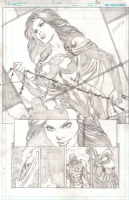 Justice League # 26 Page 20 by Ivan Reis, Comic Art