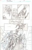 Justice League # 30 Page 12 by Ivan Reis, Comic Art
