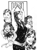Donna Troy by Phil Jimenez, Comic Art