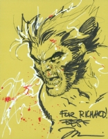 Wolverine by Jim Lee, Comic Art