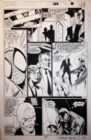 Amazing Spiderman # 388 Page 13 By Mark Bagley Comic Art