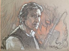 Han Solo by Tony Harris, Comic Art