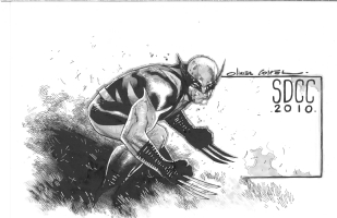 Wolverine by Olivier Coipel, Comic Art