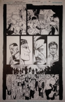 Green Lantern # 20 Page 59 by Doug Mahnke Comic Art