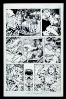 Mary America - Femforce #120 Page 3 Comic Art