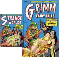 Terry Moore - Grimm Fairy Tales #85 Cover Comic Art