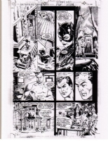 Batman Returns pg 26 featuring Catwoman Comic Art
