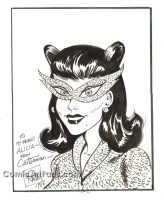 Catwoman by BOB KANE Comic Art