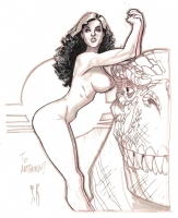 Cavewoman by Stephane Roux Comic Art