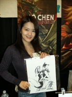 Jo Chen pic Comic Art