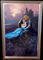 Sir William and Lady Saura in the Highlands Comic Art