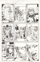 X-O Manowar #2 page 24 (Pre-Unity) Comic Art