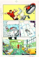 Magnus Robot Fighter #0 pg 06 color art Comic Art