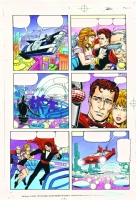 Magnus Robot Fighter #0 pg 08 color art Comic Art