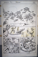 Magnus Robot Fighter #2 pg 20 Comic Art