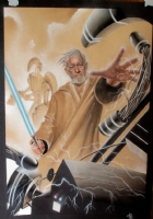 Obi Wan Kenobi - Star Wars Comic Art