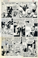 DAREDEVIL  N�9 P�16 Comic Art