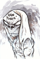Eric Talbot-Raw Power Comic Art