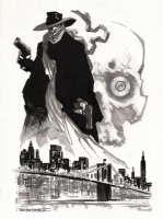 The Shadow - John K Snyder III, Comic Art